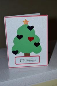 Anyhero Card, Christmas Tree