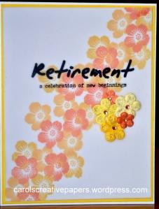 Retirment Card