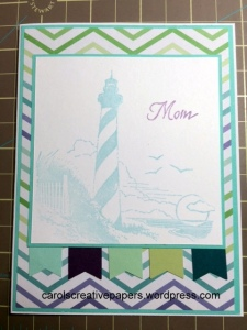 Mother's Day Card, Lighthouse