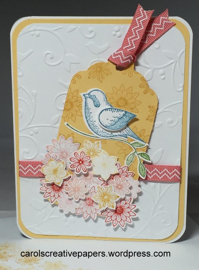 Stampin Up Bird Card