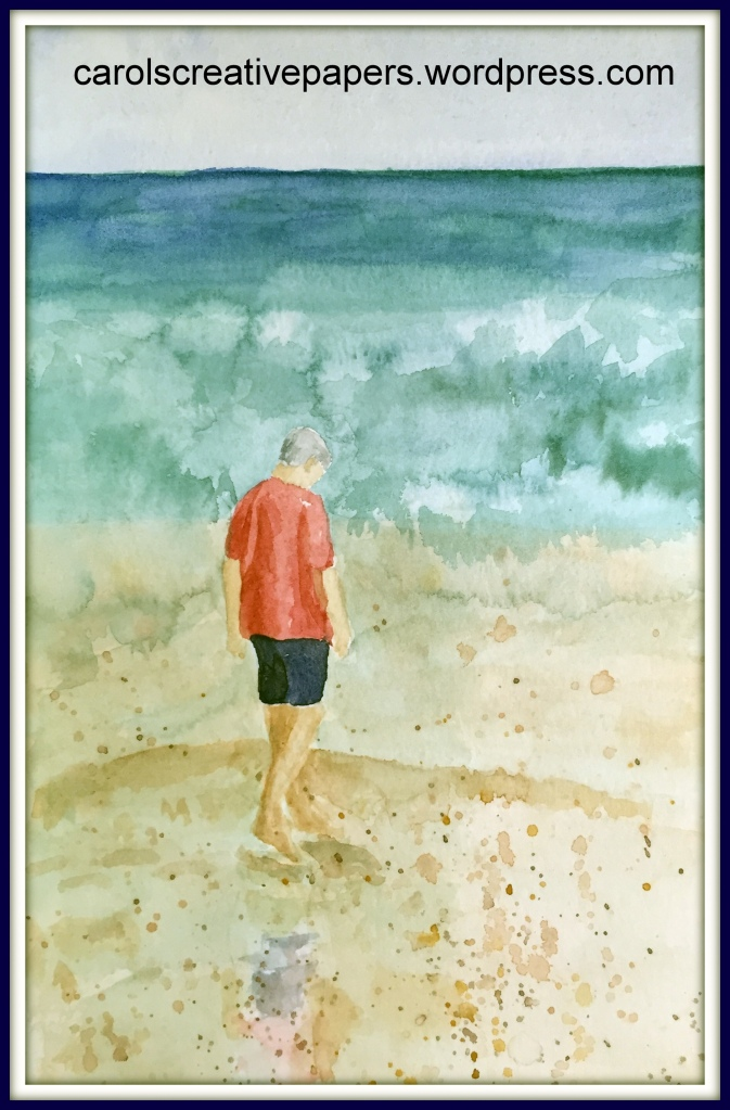 Beachcombing Hubby